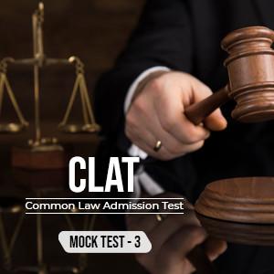 CLAT EXAM - set 3