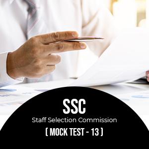 SSC - CGL  set-1